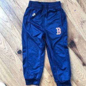 Boston Res Sox Navy Blue Joggers